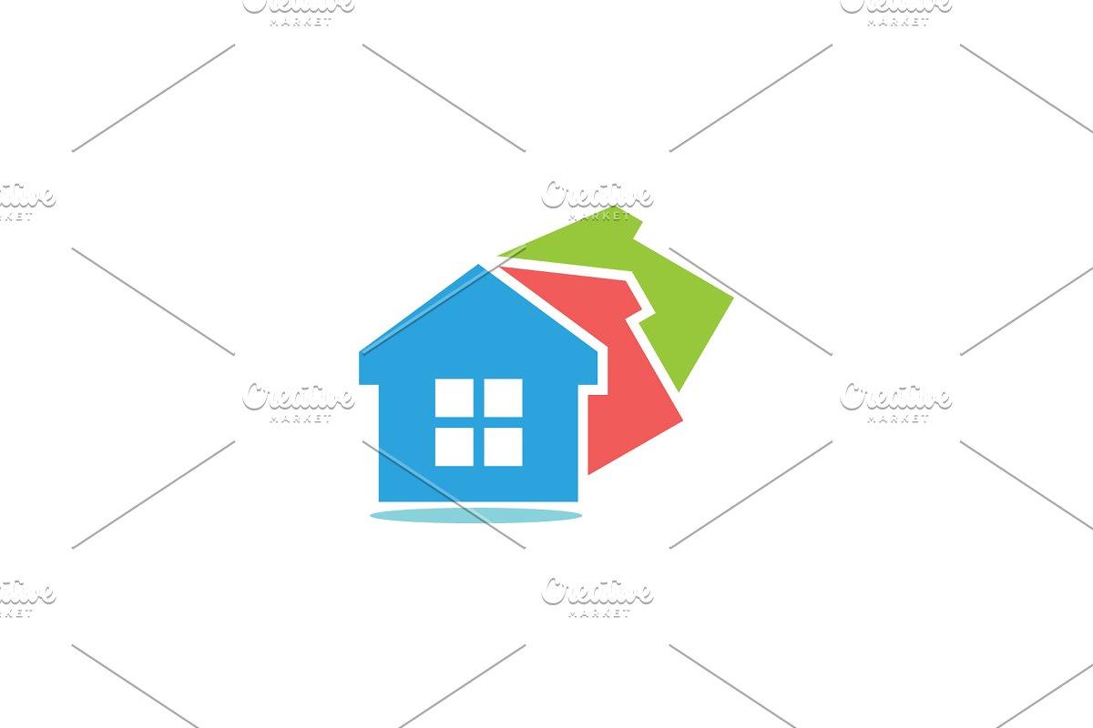 Colorful Home Logo