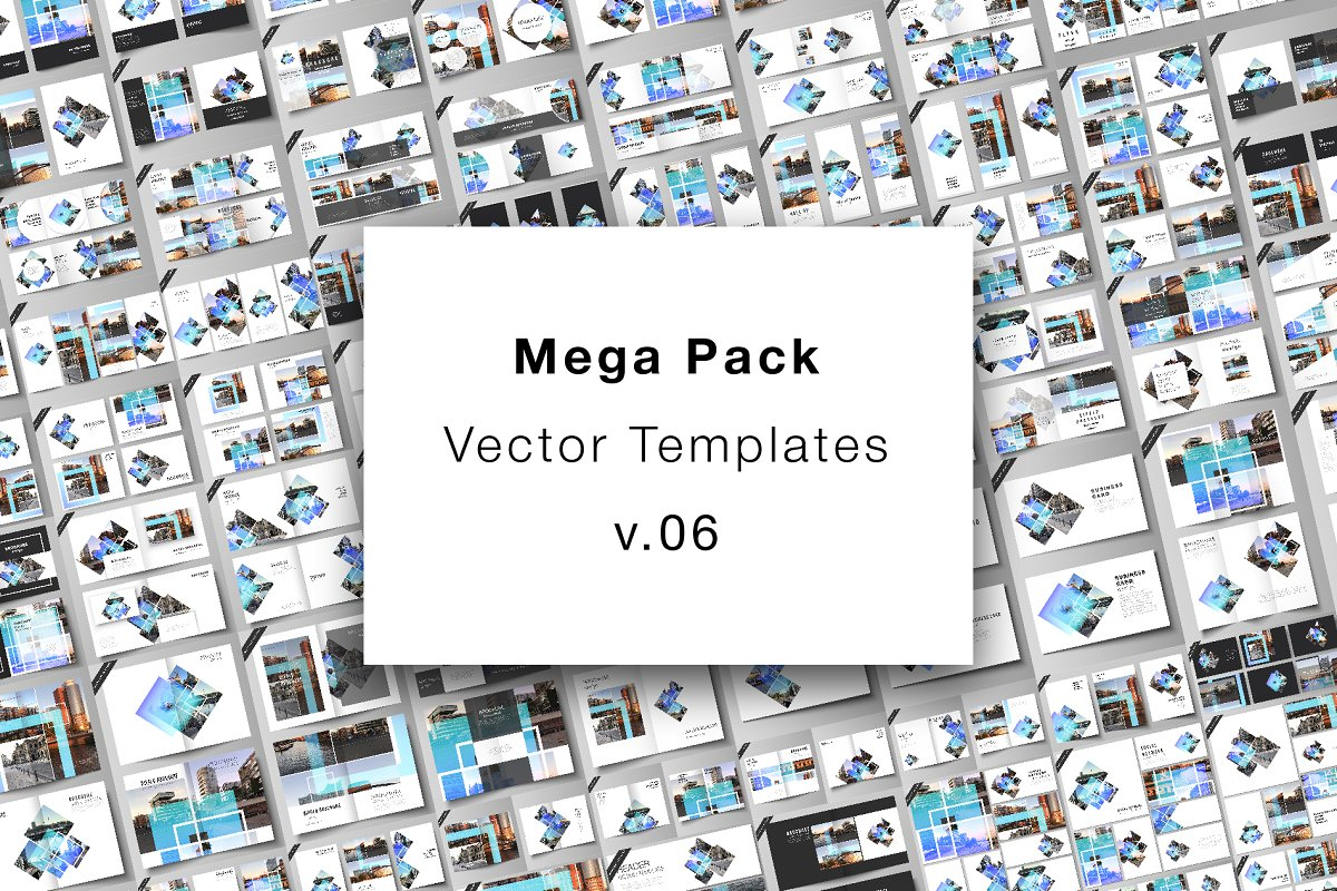 Mega Pack Templates v.06