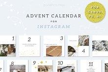 Advent Calendar for Instagram by  in Social Media