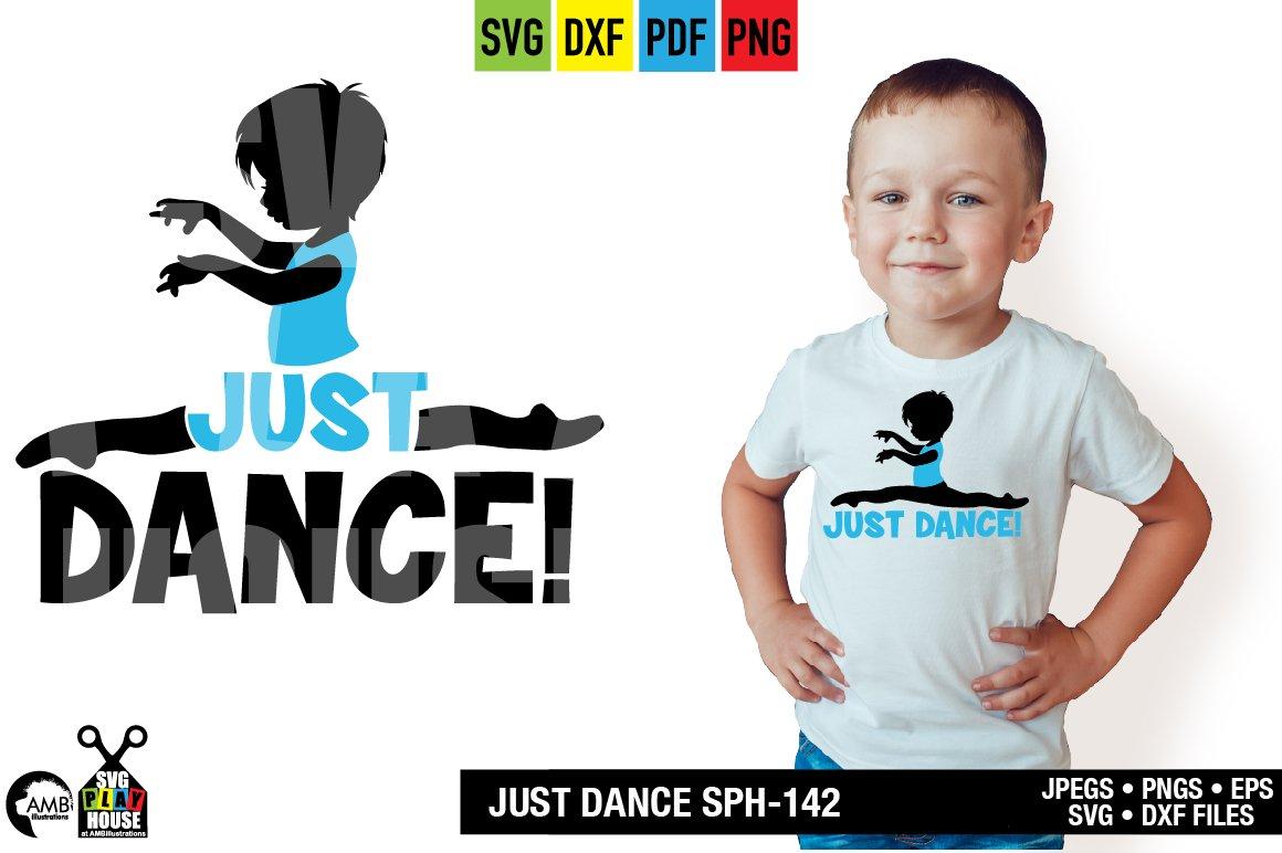 Boy Ballet Dancer Sph 142 Pre Designed Photoshop Graphics Creative Market