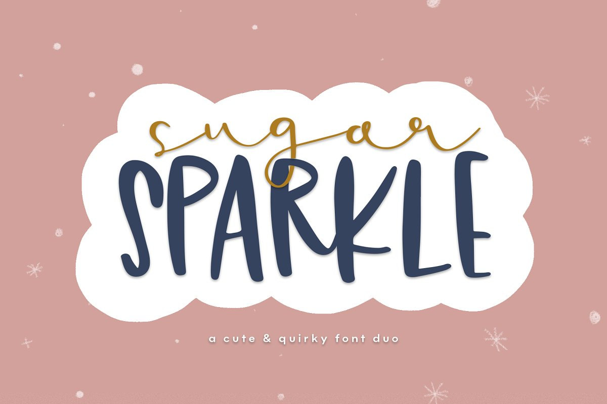 Sugar Sparkle | Font Duo