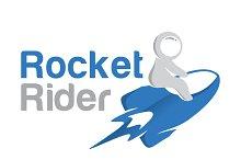 Rocket Rider Logo Template