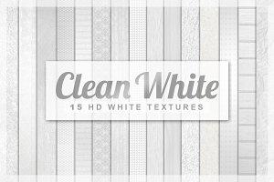 15 White Textures