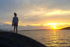 Sunset #13 by Rikke Isabelle