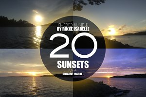Sunsets by Rikke Isabelle (Bundle)