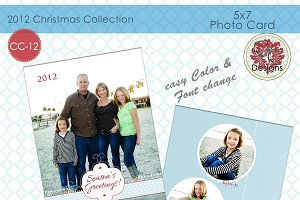 Christmas Photo Card CC-12
