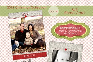 Christmas Photo Card  CC-14