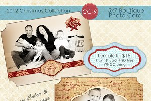 Christmas Photo Card Collection CC-9