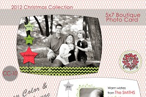 Christmas Photo Card  CC-10