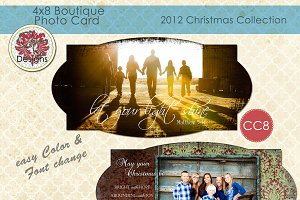Christmas Photo Card Collection CC-8