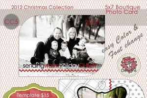 Christmas Photo Card Collection CC-5