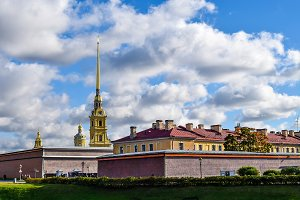 Peter & Paul fortress in St. Petersb