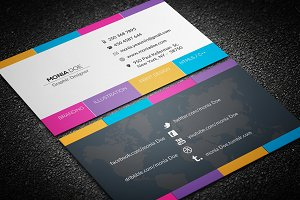 Minimal Corporate Business Card