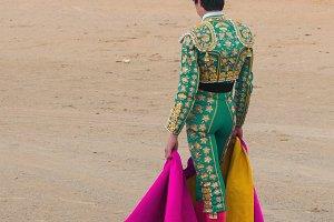standing torero
