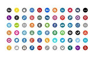 Basic Social Media Icons