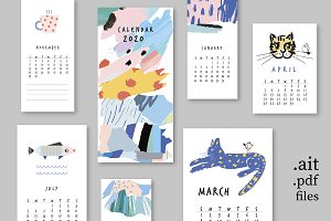 Calendars 2020 + Planners