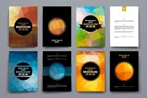 Geometric Style Brochures.