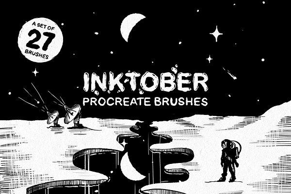 Inktober Procreate brushes