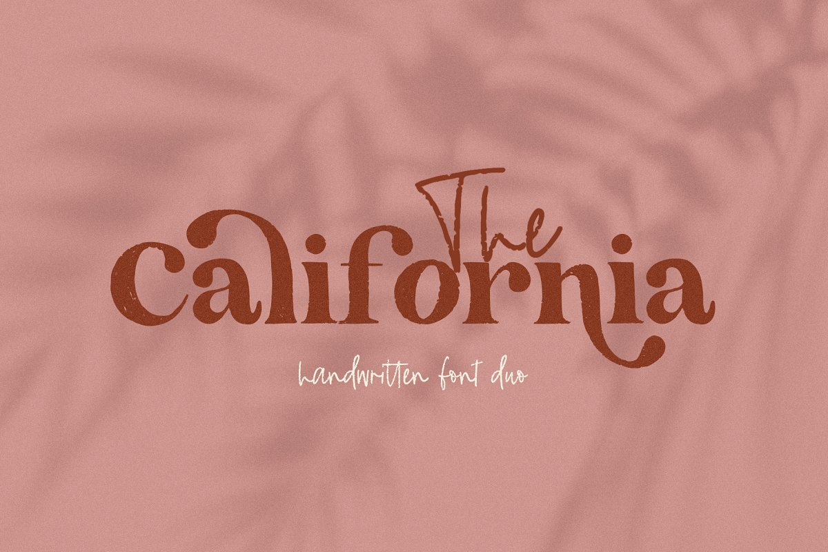 The California | Serif Font Duo