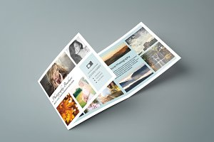 Trifold Photography Brochure-V186