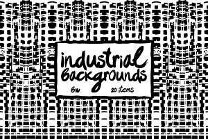 Industrial backgrounds