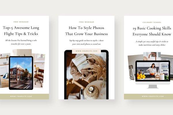 Pinterest Bundle | Canva