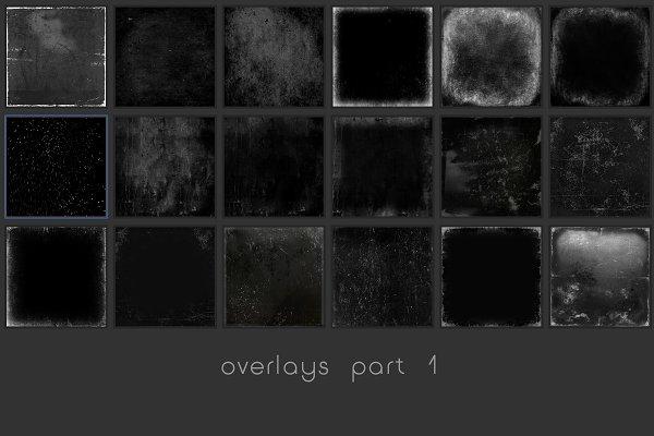 30 Texture Overlays