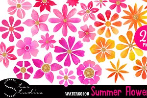 Summer Flowers pack