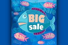 Big sale retro poster