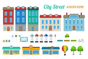 City Street Building Kit