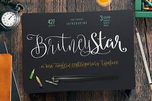 Britney Star Font Family