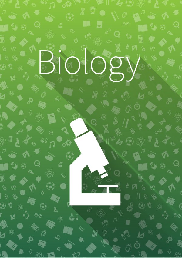 Cover Quot Biology Quot On Green Background Illustrations