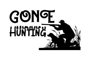 Hunters Gather Here Cut File Pre Designed Illustrator Graphics Creative Market