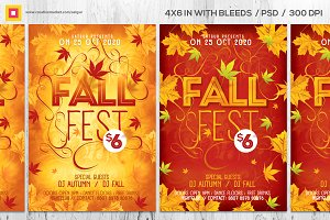 Fall Flyer / Autumn Flyer V2