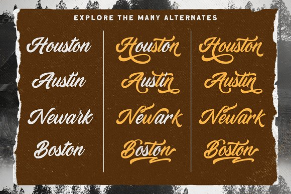 Devilion - Hand Lettering Script in Display Fonts - product preview 1