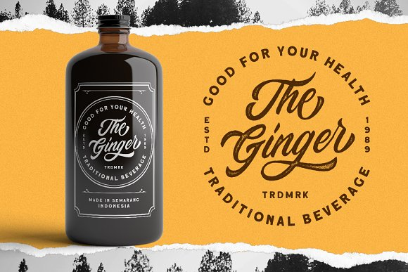 Devilion - Hand Lettering Script in Display Fonts - product preview 3