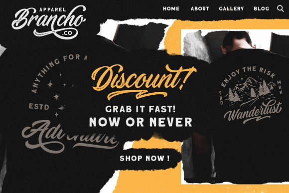 Devilion - Hand Lettering Script in Display Fonts - product preview 4
