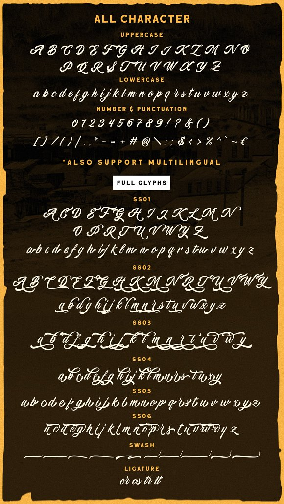 Devilion - Hand Lettering Script in Display Fonts - product preview 8