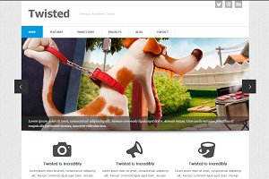 Twisted - Responsive Business Theme