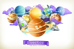 Universe vector illustration