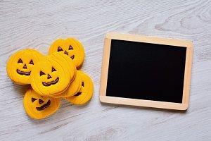 Halloween cookies.