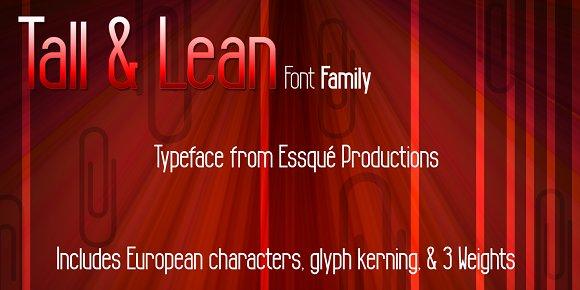 Tall & Lean Family