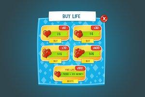 Cute Game GUI Pack
