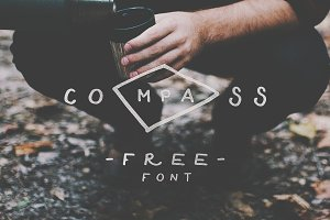 Compass — Font for Only $2