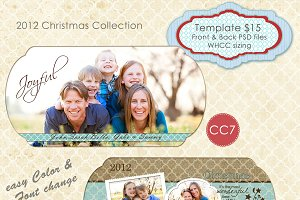 Christmas Photo Card Collection CC-7