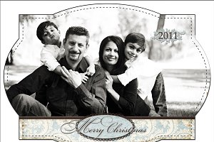 Christmas Photo Card Set 14