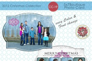 Christmas Photo Card  CC-19