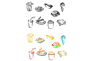 Fast food elements