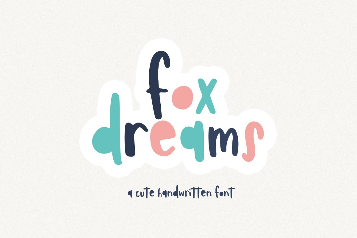 Fox Dreams | Cute Handwritten Font