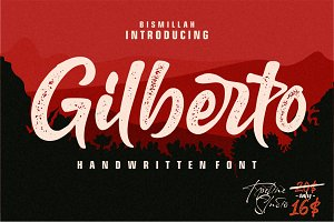 Gilberto a stylish text .